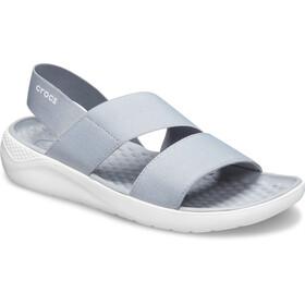 Crocs LiteRide Stretch Sandals Women, light grey/white